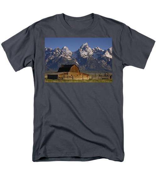 Cunningham Cabin In Front Of Grand T-Shirt by Pete Oxford