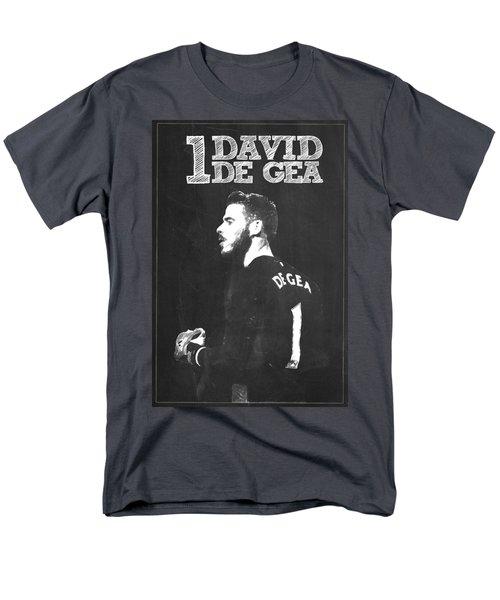 David De Gea Men's T-Shirt  (Regular Fit) by Semih Yurdabak