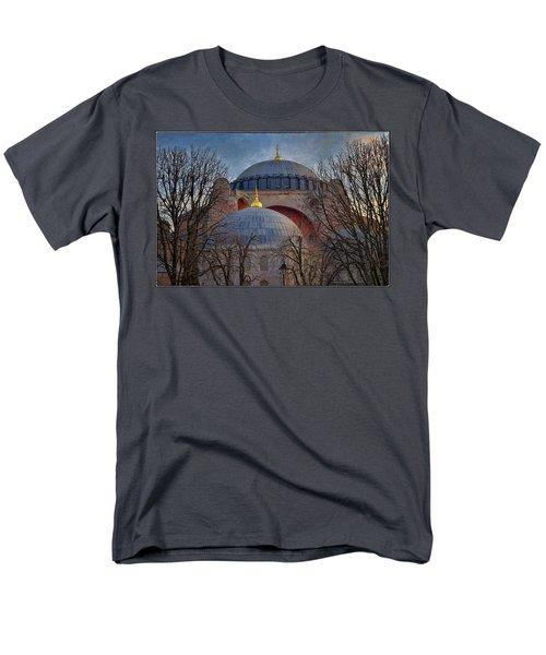 Dawn over Hagia Sophia T-Shirt by Joan Carroll