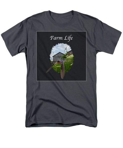 Farm Life Men's T-Shirt  (Regular Fit) by Jan M Holden