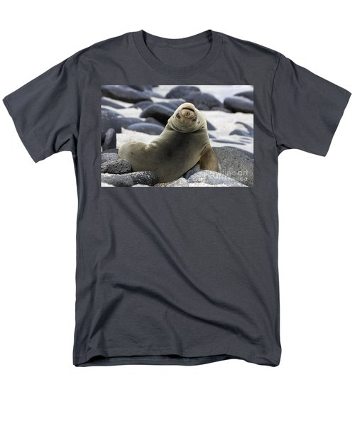 Galapagos Sea Lion T-Shirt by David Hosking and Photo Researchers