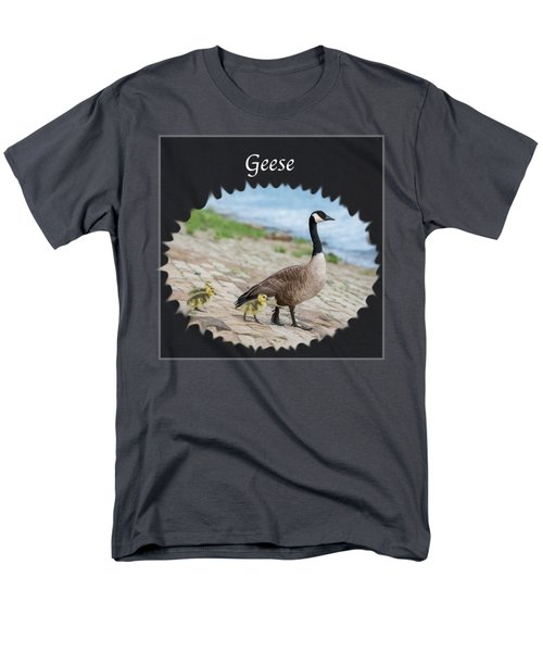 Geese In The Clouds Men's T-Shirt  (Regular Fit) by Jan M Holden