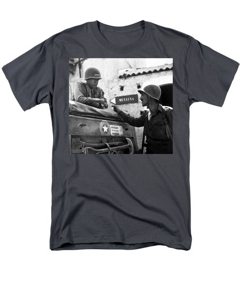 General Patton In Sicily T-Shirt by War Is Hell Store