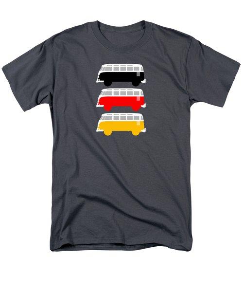 German Icon - Vw T1 Samba Men's T-Shirt  (Regular Fit) by Mark Rogan