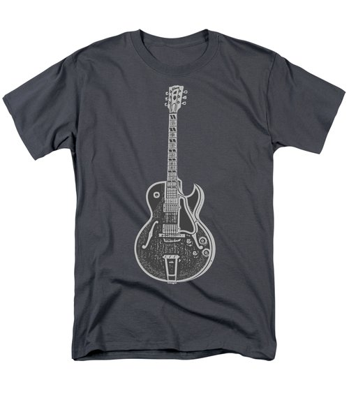 Gibson Es-175 Electric Guitar Tee Men's T-Shirt  (Regular Fit) by Edward Fielding