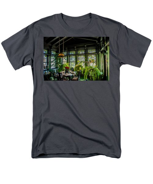 Glensheen Mansion Breakfast Room Men's T-Shirt  (Regular Fit) by Paul Freidlund