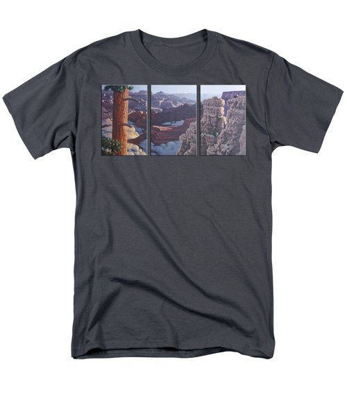 Grand Canyon Dawn Men's T-Shirt  (Regular Fit) by Jim Thomas