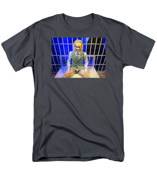 Heath Ledger As The Joker Men's T-Shirt  (Regular Fit) by John Malone