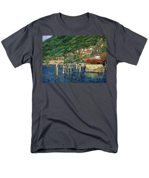 il porto di Bellano T-Shirt by Guido Borelli