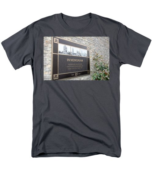 Men's T-Shirt  (Regular Fit) featuring the photograph In Memoriam - Ypres by Travel Pics