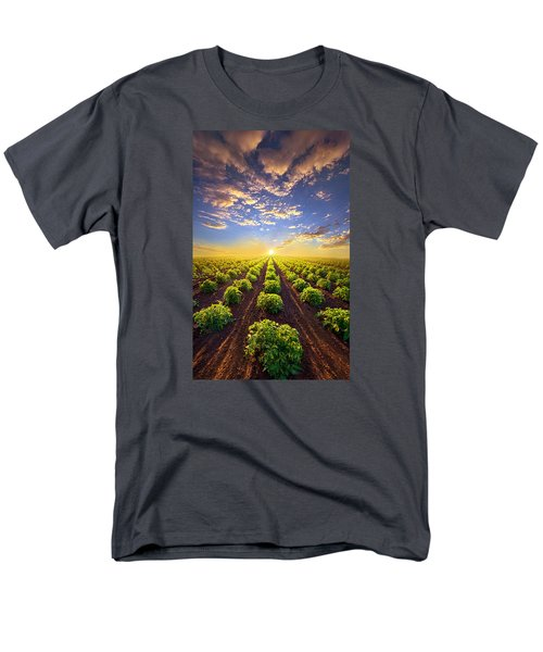 Into The Future Men's T-Shirt  (Regular Fit) by Phil Koch