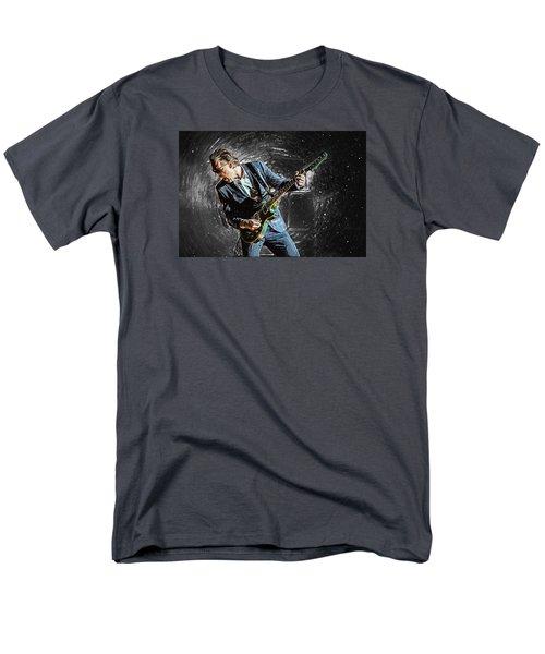 Joe Bonamassa Men's T-Shirt  (Regular Fit) by Taylan Apukovska