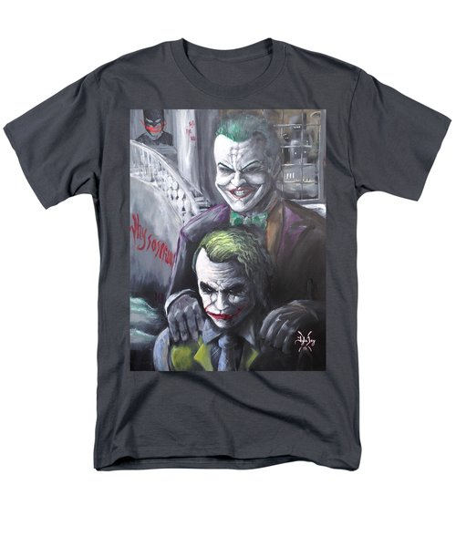 Jokery In Wayne Manor Men's T-Shirt  (Regular Fit) by Tyler Haddox