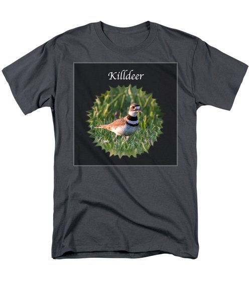 Killdeer Men's T-Shirt  (Regular Fit) by Jan M Holden