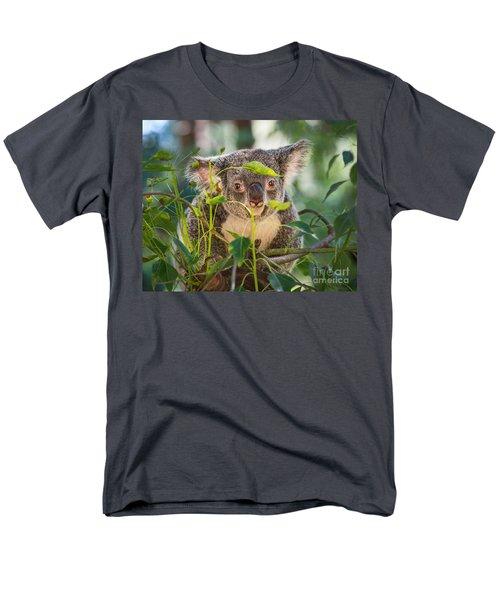 Koala Leaves Men's T-Shirt  (Regular Fit) by Jamie Pham