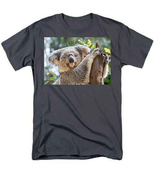 Koala On Tree Men's T-Shirt  (Regular Fit) by Jamie Pham