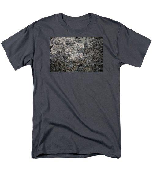 Men's T-Shirt  (Regular Fit) featuring the photograph Lava Flow by M G Whittingham