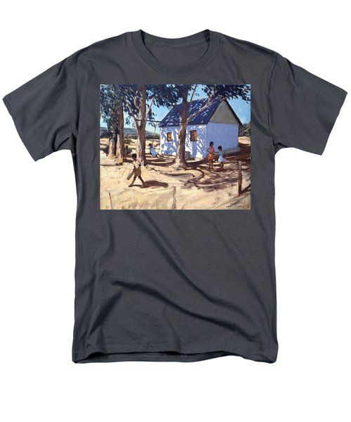 Little White House Karoo South Africa Men's T-Shirt  (Regular Fit) by Andrew Macara