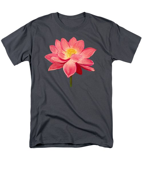 Lotus Flower Men's T-Shirt  (Regular Fit) by Anastasiya Malakhova