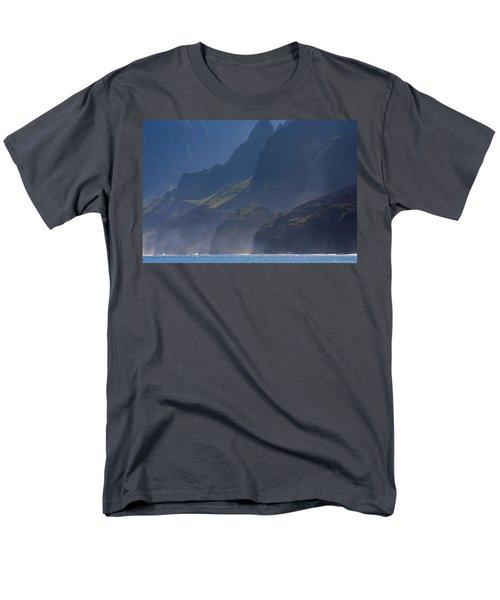 Na Pali Morning Mist T-Shirt by Mike  Dawson
