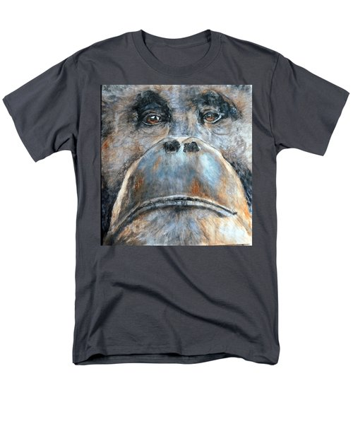 Orangutan Men's T-Shirt  (Regular Fit) by Maureen Murphy