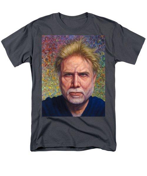 Portrait of a Serious Artist T-Shirt by James W Johnson