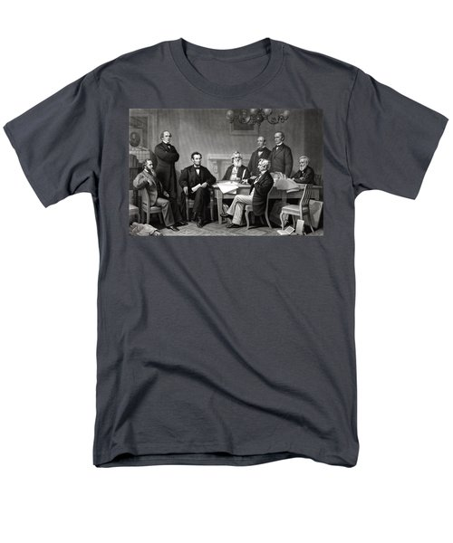 President Lincoln and His Cabinet T-Shirt by War Is Hell Store
