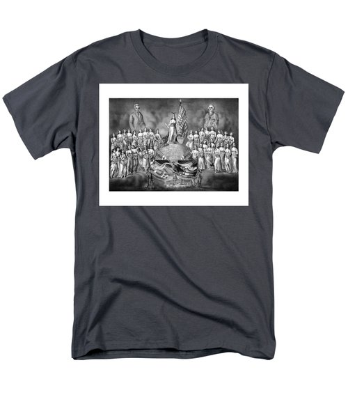 Presidents Washington and Jackson T-Shirt by War Is Hell Store