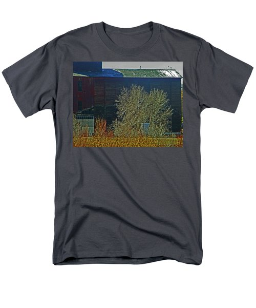 Pueblo Downtown-Sweeny Feed Mill 6 T-Shirt by Lenore Senior