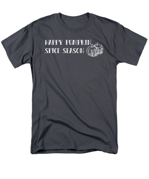 Pumpkin Spice Season Men's T-Shirt  (Regular Fit) by Nancy Ingersoll
