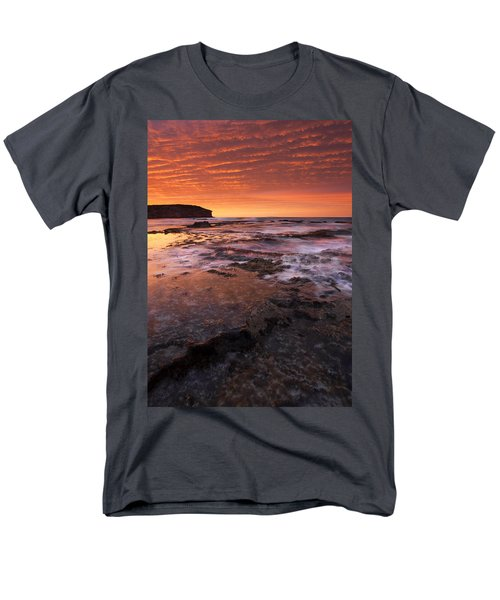 Red Tides Men's T-Shirt  (Regular Fit) by Mike  Dawson
