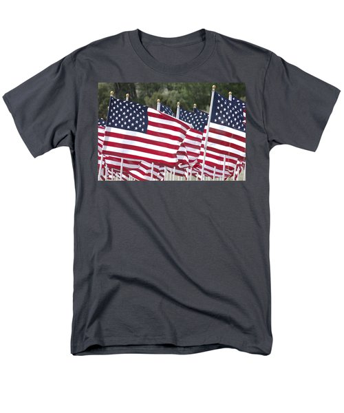 Red White and Blue T-Shirt by Jerry McElroy
