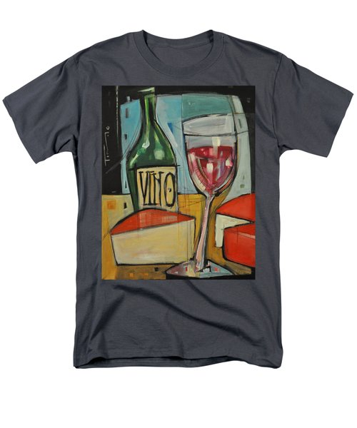 red wine and cheese T-Shirt by Tim Nyberg