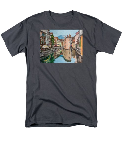 Reflections Of Annecy T-Shirt by Charlotte Blanchard