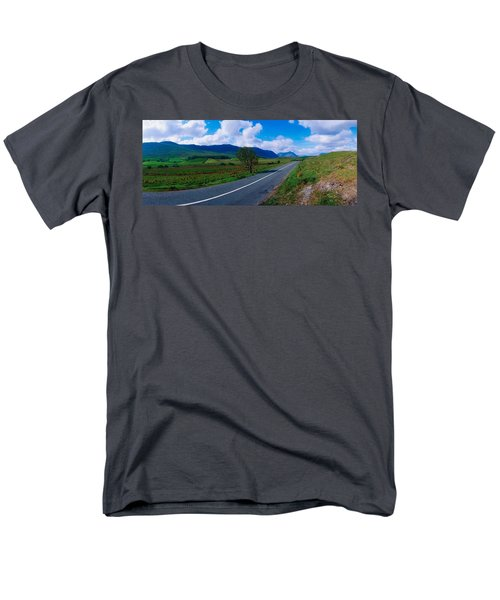 Road From Westport To Leenane, Co Mayo T-Shirt by The Irish Image Collection