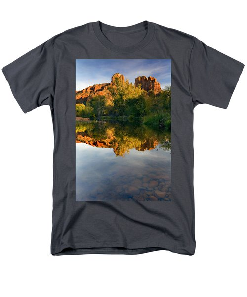 Sedona Sunset T-Shirt by Mike  Dawson