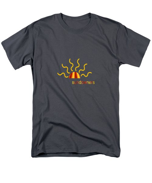 Solitary Seagull Men's T-Shirt  (Regular Fit) by Valerie Anne Kelly