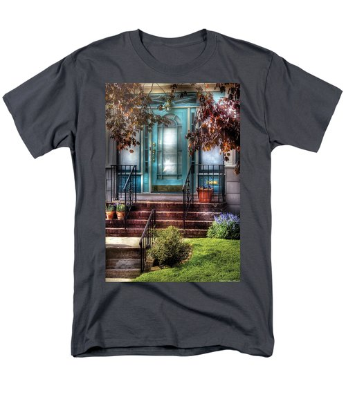 Spring - Door - Apartment T-Shirt by Mike Savad