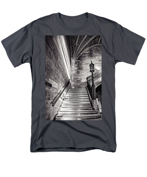 Stairs Of The Past Men's T-Shirt  (Regular Fit) by CJ Schmit