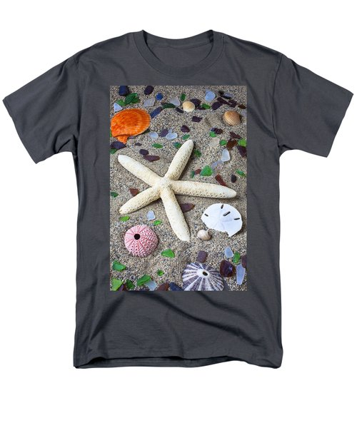 Starfish beach still life T-Shirt by Garry Gay