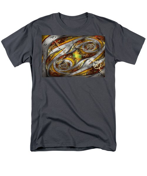 Steampunk - Spiral - Space time continuum T-Shirt by Mike Savad