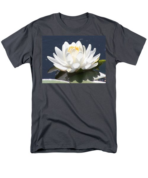 Sunlight on Water Lily T-Shirt by Carol Groenen