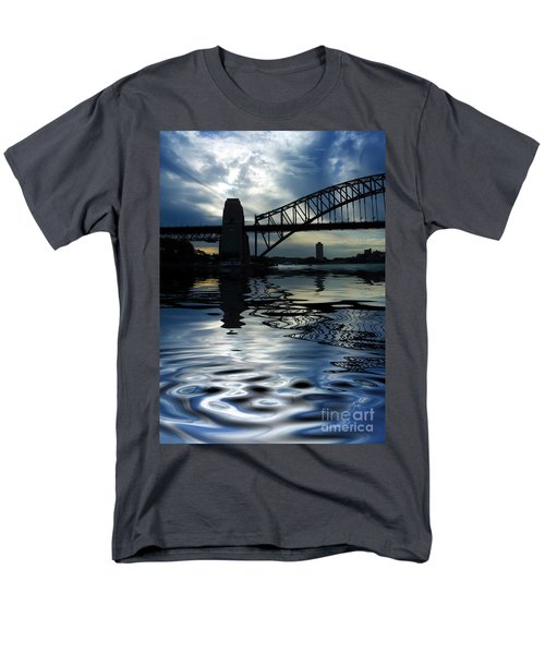 Sydney Harbour Bridge reflection T-Shirt by Sheila Smart