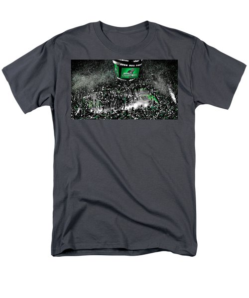 The Boston Celtics 2008 Nba Finals Men's T-Shirt  (Regular Fit) by Brian Reaves
