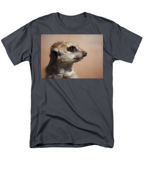 The Meerkat Da Men's T-Shirt  (Regular Fit) by Ernie Echols