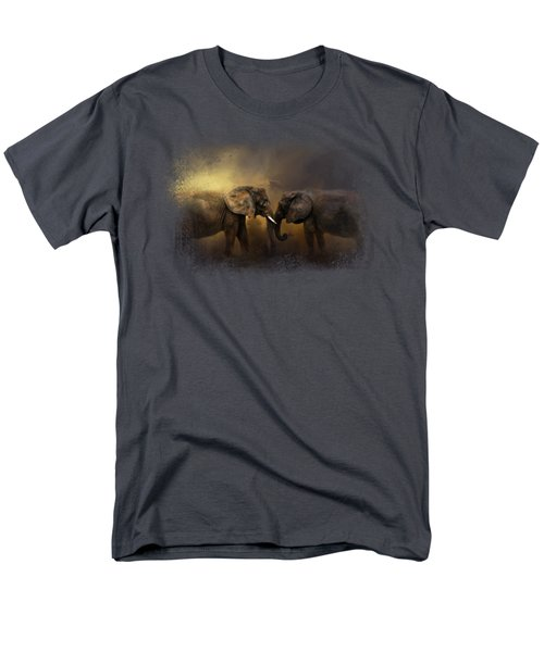 Together Through The Storms Men's T-Shirt  (Regular Fit) by Jai Johnson
