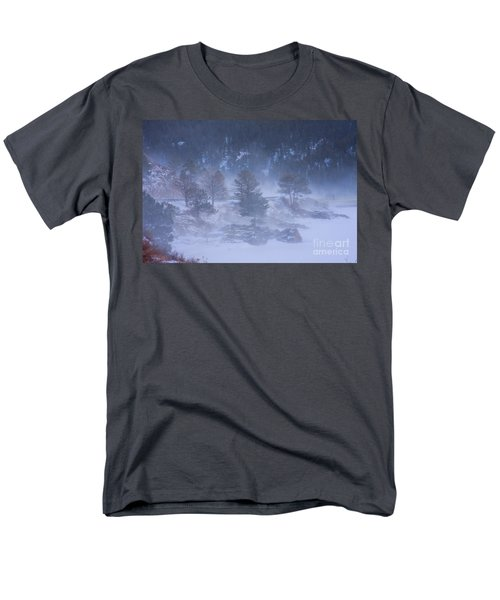 Top of Boulder Canyon Winter Snow T-Shirt by James BO  Insogna
