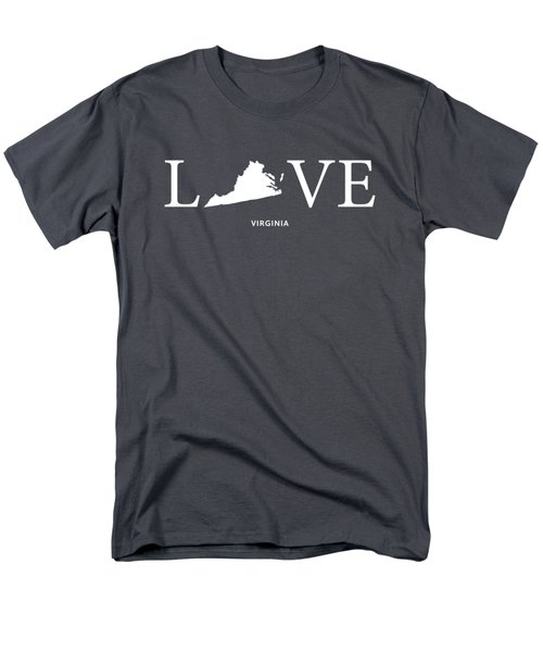 Va Love Men's T-Shirt  (Regular Fit) by Nancy Ingersoll