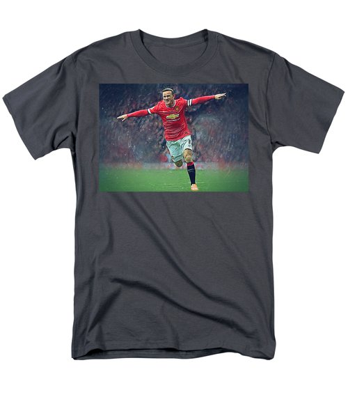 Wayne Rooney Men's T-Shirt  (Regular Fit) by Semih Yurdabak