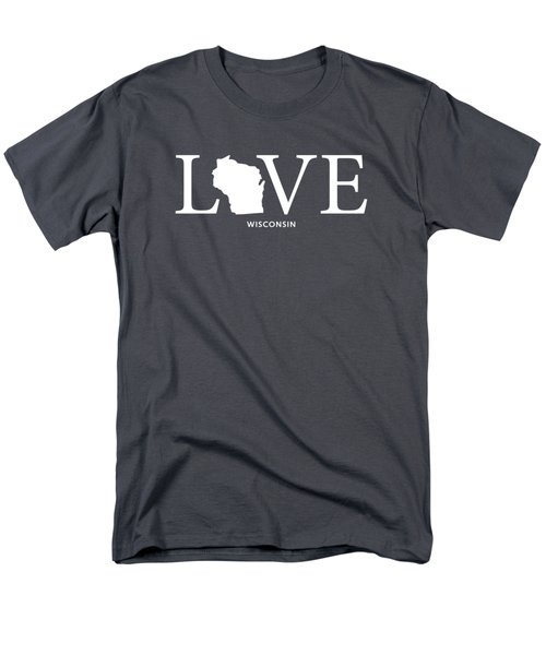 Wi Love Men's T-Shirt  (Regular Fit) by Nancy Ingersoll